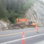 Sterling highway road work